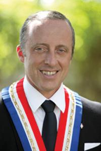 Pr Christophe TROJANI - Maire de Villefranche sur Mer -