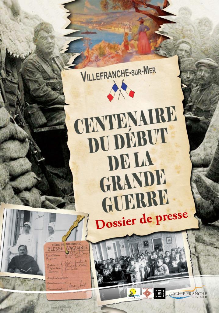 Centenaire 1914 1918 Villefranche Sur Mer