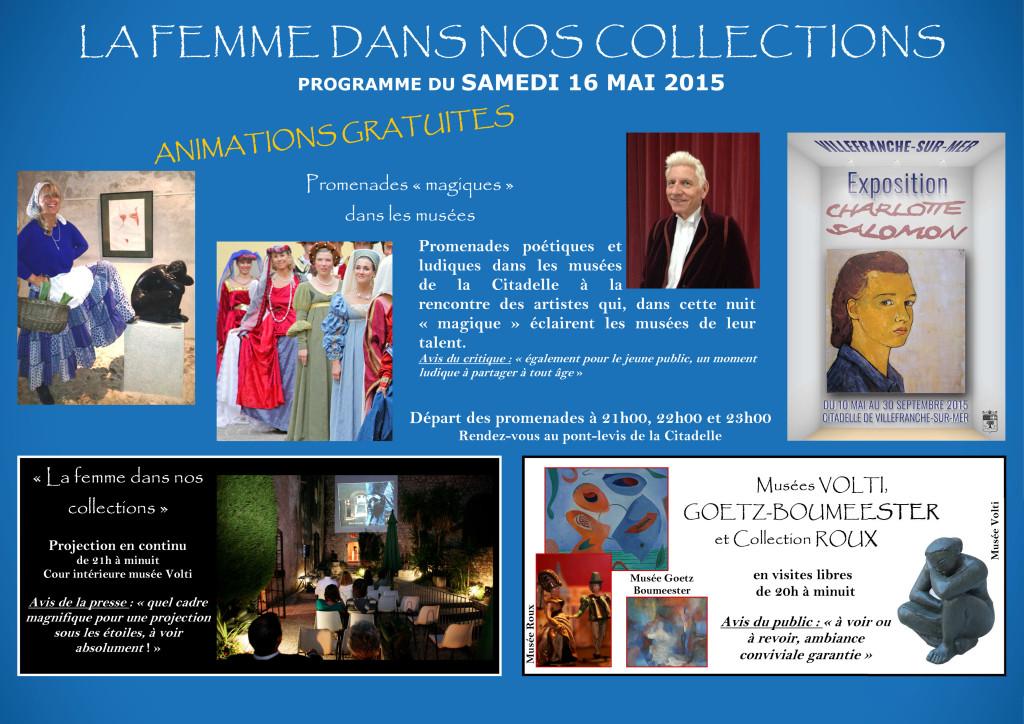 Programme  NUIT DES MUSEES 2015.pub