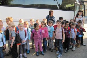 Classe verte, école primaire Caldéroni