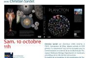 Conférence « Le Plancton et la planète » avec Christian Sardet
