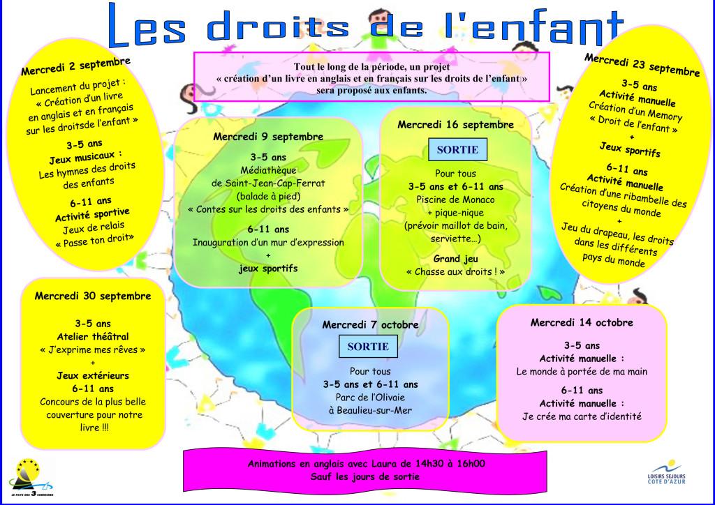 Programme accueil de loisirs SJCF sept oct 2015-2