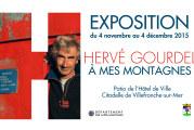 Exposition et présentation de «A mes montagnes»