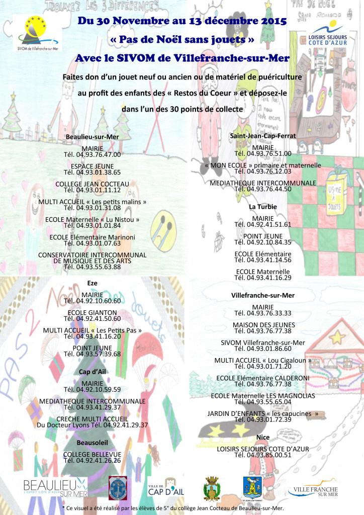 affiche pas de Noel sans jouets 2015 23 11 15
