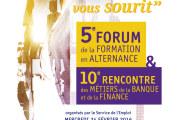 Le service de l'emploi de Monaco organise le 5ème forum de la formation en alternance et la 10ème rencontre des métiers de la banque et de la finance :