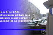 Stationnement : reprise de la saison des croisières