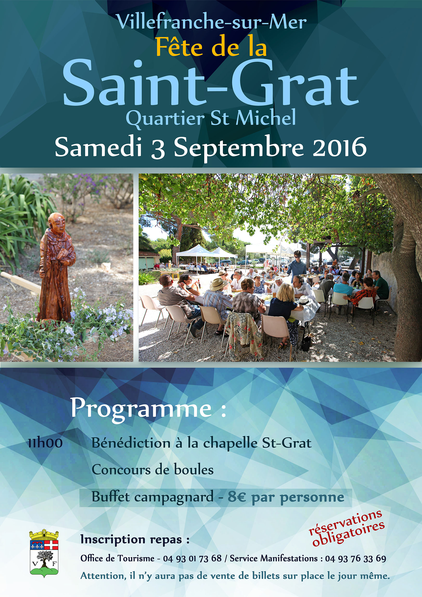 Fête Traditionnelle de la Saint-Grat !