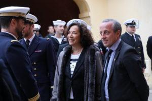 Réception protocolaire en mairie de Vilelfranche-sur-Mer