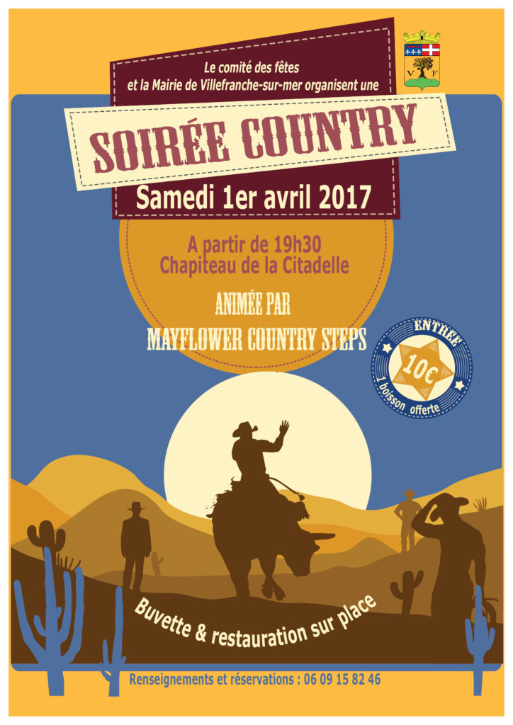 Affiche Country 2017
