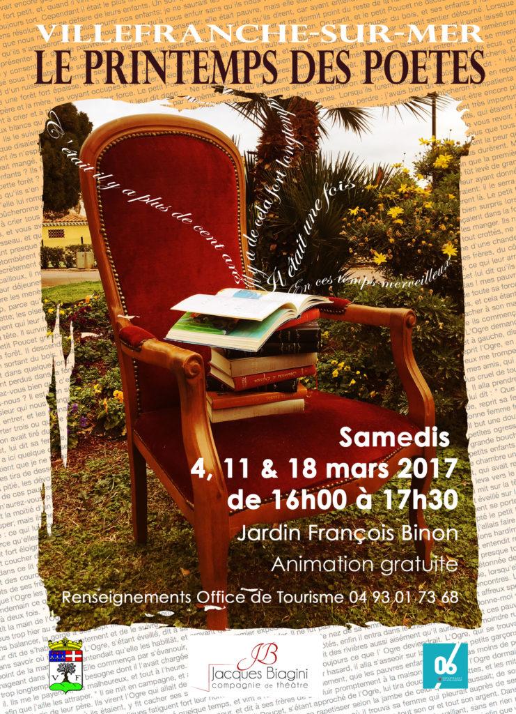 Printemps des Poêtes @ Jardin Binon | Villefranche-sur-Mer | Provence-Alpes-Côte d'Azur | France