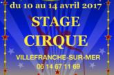 Stage de Cirque à Villefranche