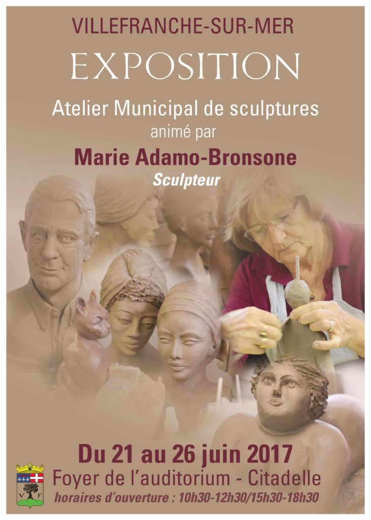 Exposition de l'Atelier Municipal de sculptures