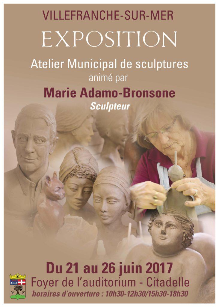 Exposition de l'Atelier Municipal de sculptures