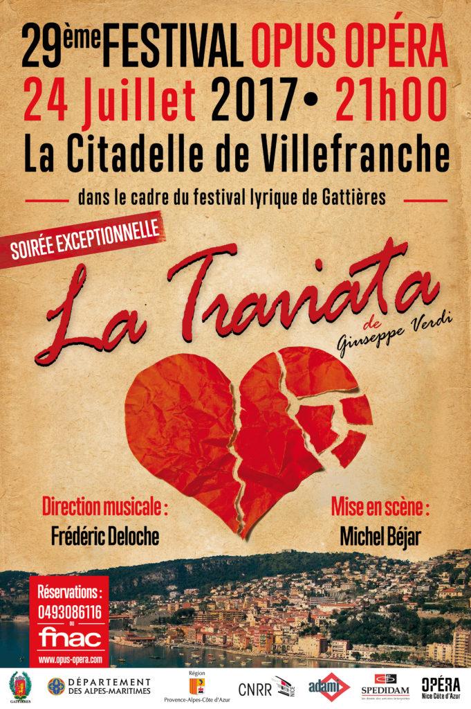 29ème Festival OPUS OPERA - La Traviata -