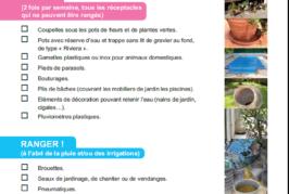 Campagne de prévention pour «être sec avec les moustiques»