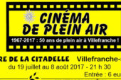 Programme Cinéma en plein air