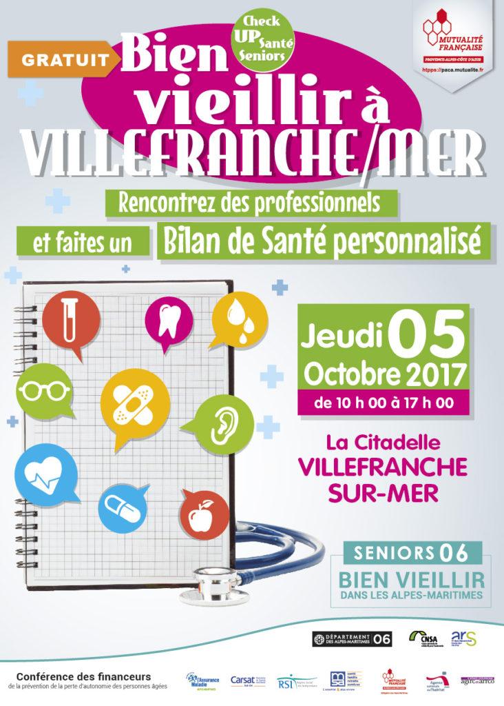 Semaine Bleue - Bien vieillir à Villefranche-sur-Mer -