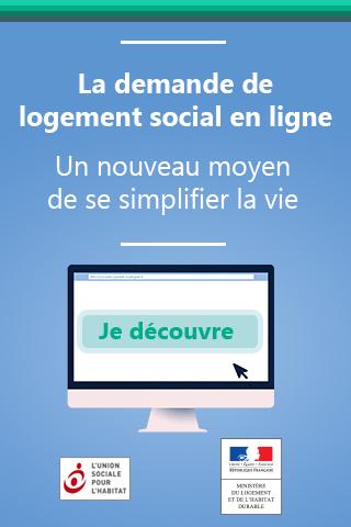 Maintenant, faites votre demande de logement social en ligne !