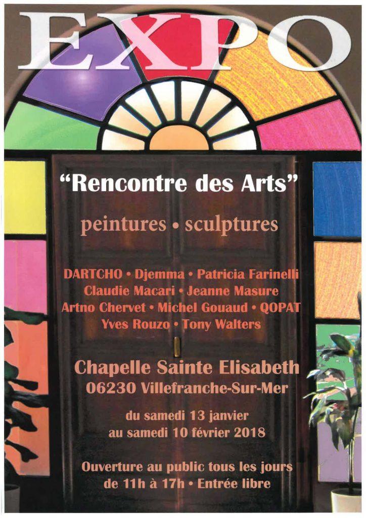 """Exposition """"rencontre des arts"""""""