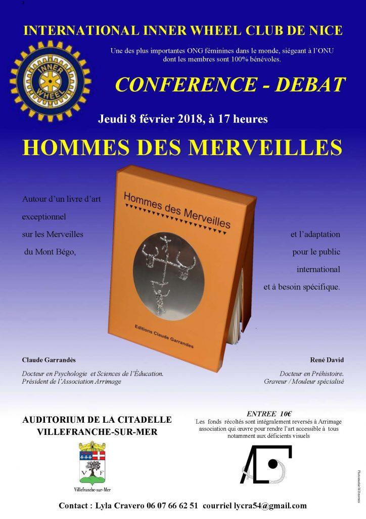 Conférence - Débat - Hommes des Merveilles -