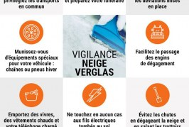 Alerte orange – Neige-Verglas – 28 02 18