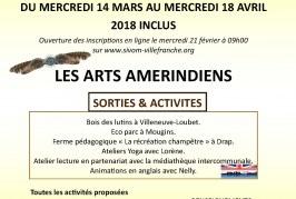 Programme d'accueil de loisirs pour les 3-10 ans du 14 mars au 18 avril