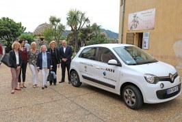 Un nouveau véhicule offert au CCAS de Villefranche-sur-Mer