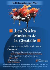 Les Nuits Musicales de la Citadelle @ Théâtre de Verdure de la Citadelle | Villefranche-sur-Mer | Provence-Alpes-Côte d'Azur | France