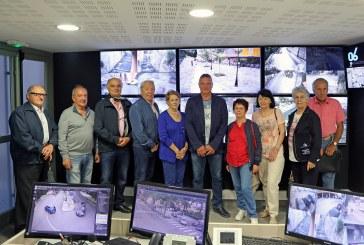 Visite du Centre de Surveillance Urbain par l'association CDACOSE