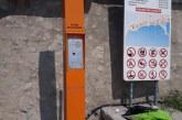 Installation borne de secours plage de la Darse