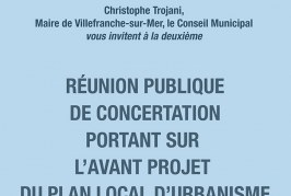 Réunion publique relative au Plan Local d'Urbanisme Métropolitain – PLUM