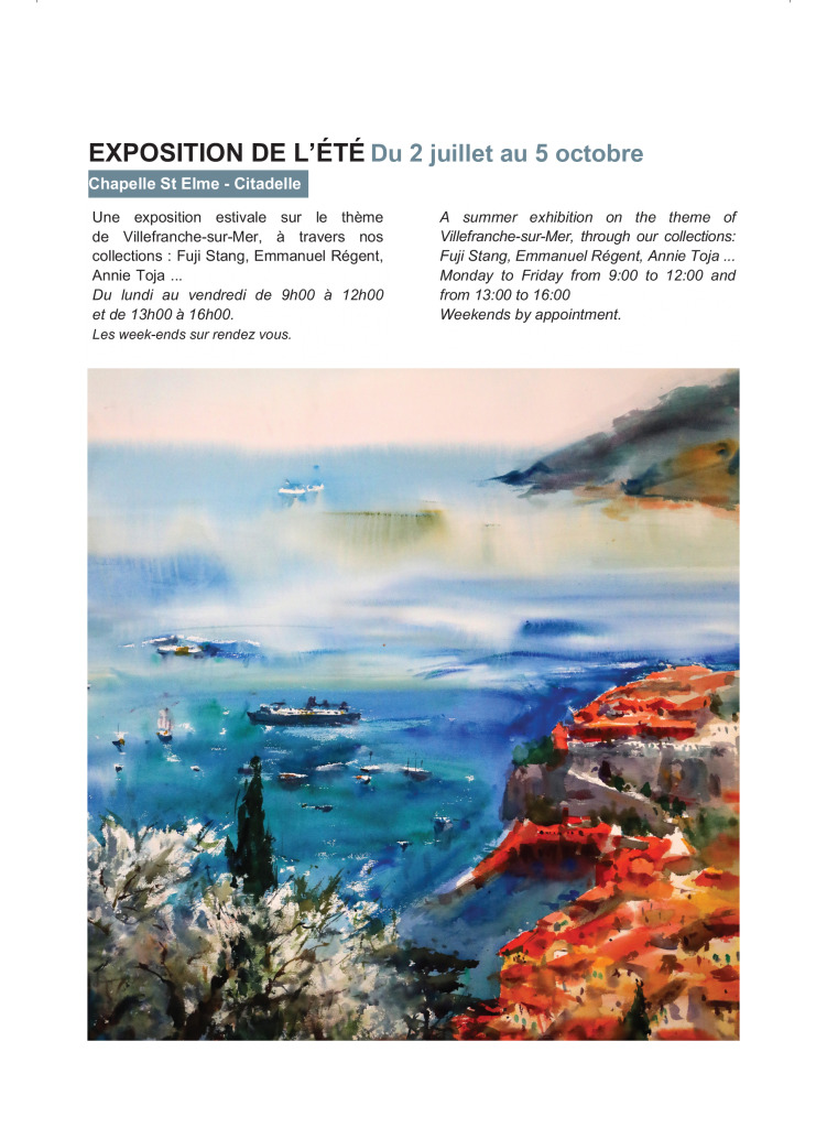 Exposition de l'été @ Chapelle Saint Elme | Villefranche-sur-Mer | France