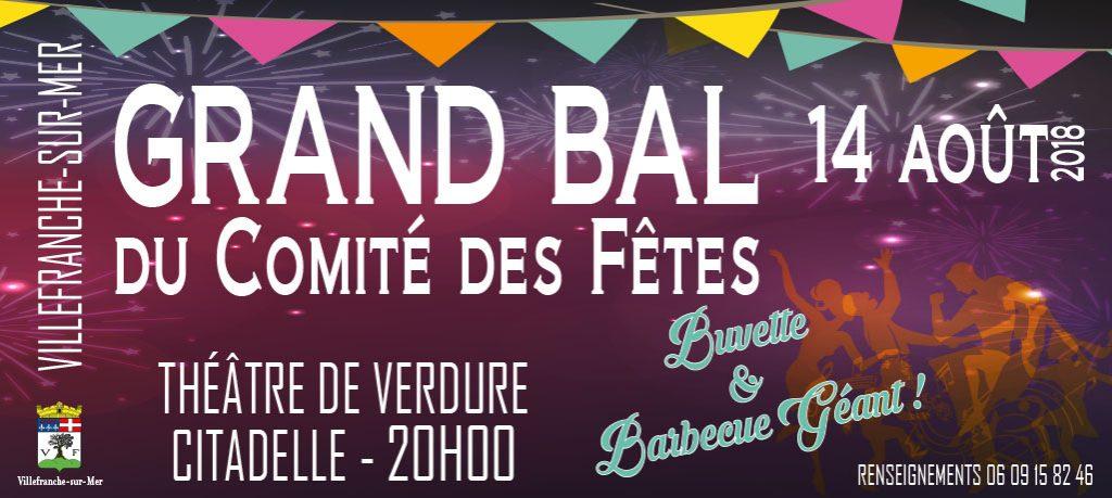 Bal du comité des fêtes @ Théâtre de Verdure - Citadelle | Villefranche-sur-Mer | France
