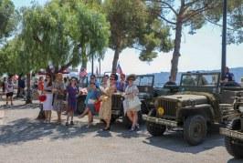 Coup d'oeil sur l'independence day du 4 Juillet à Villefranche-sur-Mer.