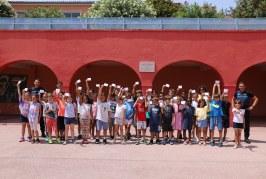 Remise des permis piétons pour les élèves de l'école Calderoni