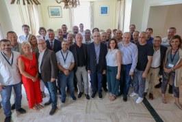 Visite de la délégation libanaise.