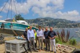 Enlèvement des 18 épaves de navires dans le port de Villefranche-sur-Mer