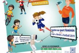 La 15ème étape de la tournée estivale de la Caravane du sport fait escale à Villefranche-sur-Mer le mercredi 1er août 2018