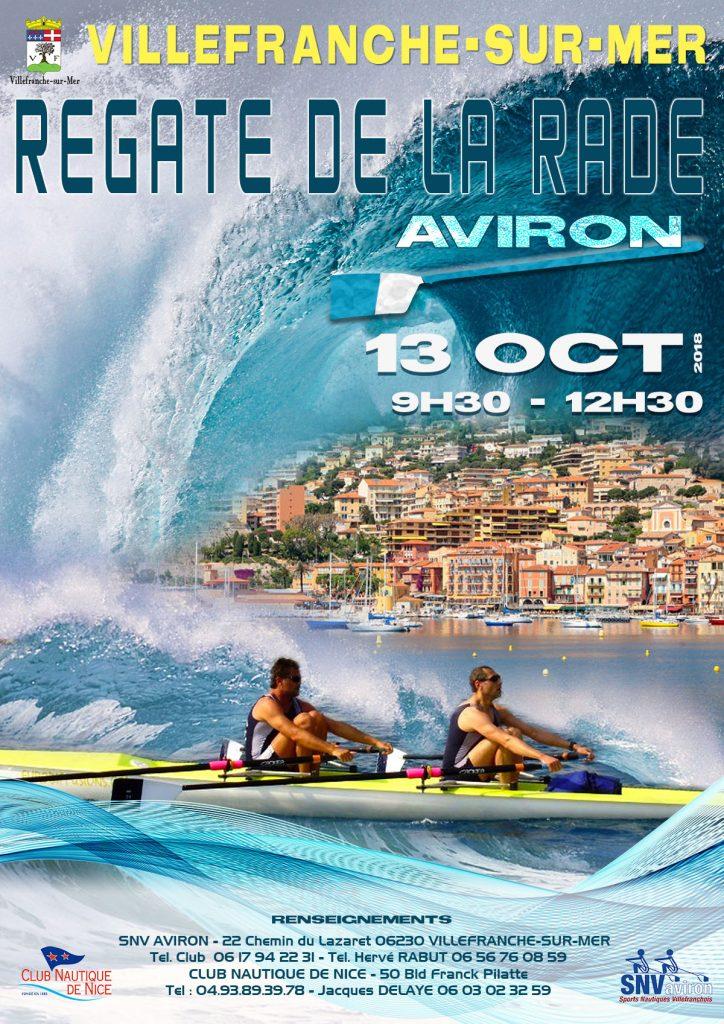 Régate Aviron Samedi 13 Octobre - 9h30 à 12h30