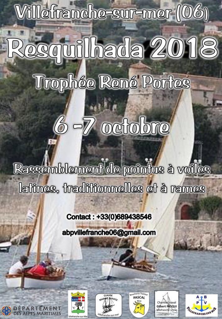 RESQUILHADA 2018 - 6 et 7 Octobre 2018 @ Villefranche-sur-Mer | Villefranche-sur-Mer | Provence-Alpes-Côte d'Azur | France