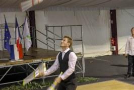 Inauguration de l'école de cirque CIRQUEN RIVIERA à Villefranche-sur-Mer