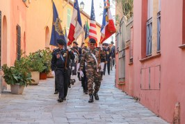 Retour en images sur la Commémoration des combats de la Malmaison et de la Sidi Brahim par le 24ème BCA, ce dimanche 21 octobre à Villefranche-sur-Mer.