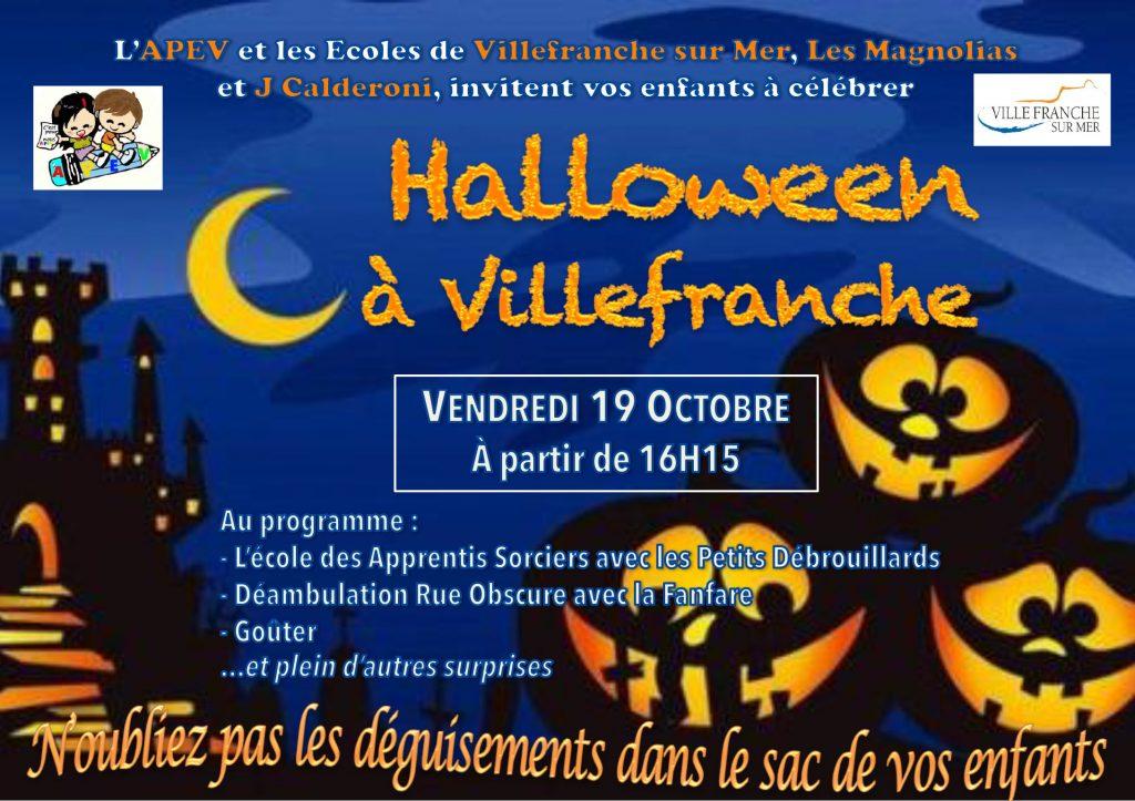 Villefranche-sur-Mer se déguise pour Halloween !