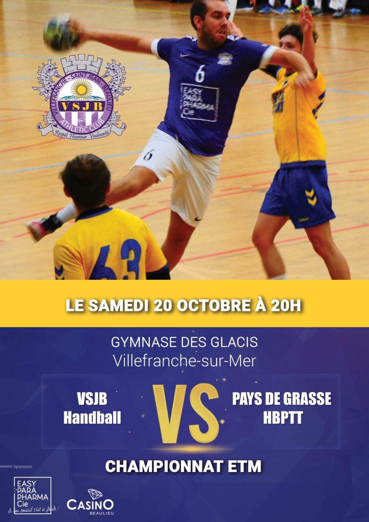 VSJB Handball VS Pays de Grasse HBPTT