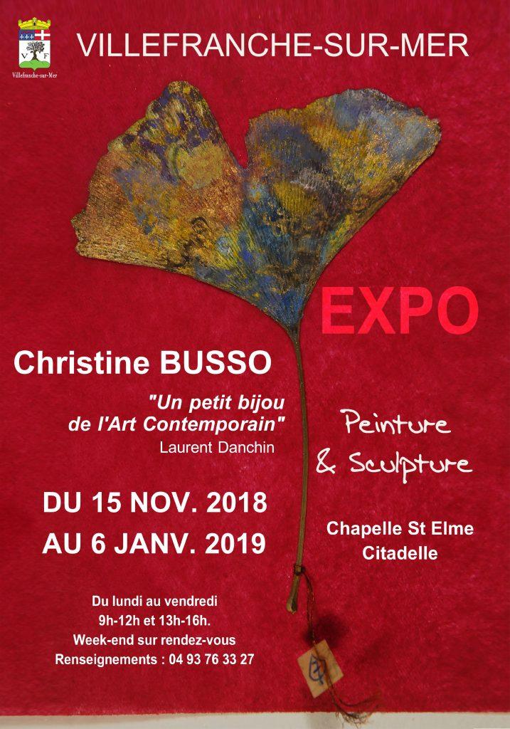 Exposition de Christine BUSSO