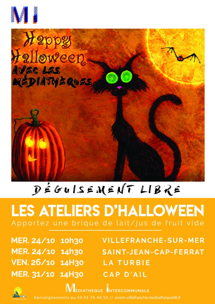 Les ateliers d'Halloween