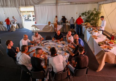 St Michel repas du personnel-3