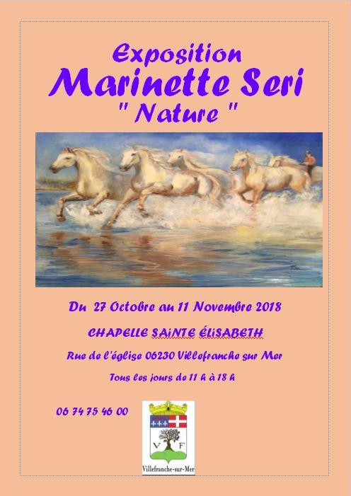 Exposition Marinette Seri