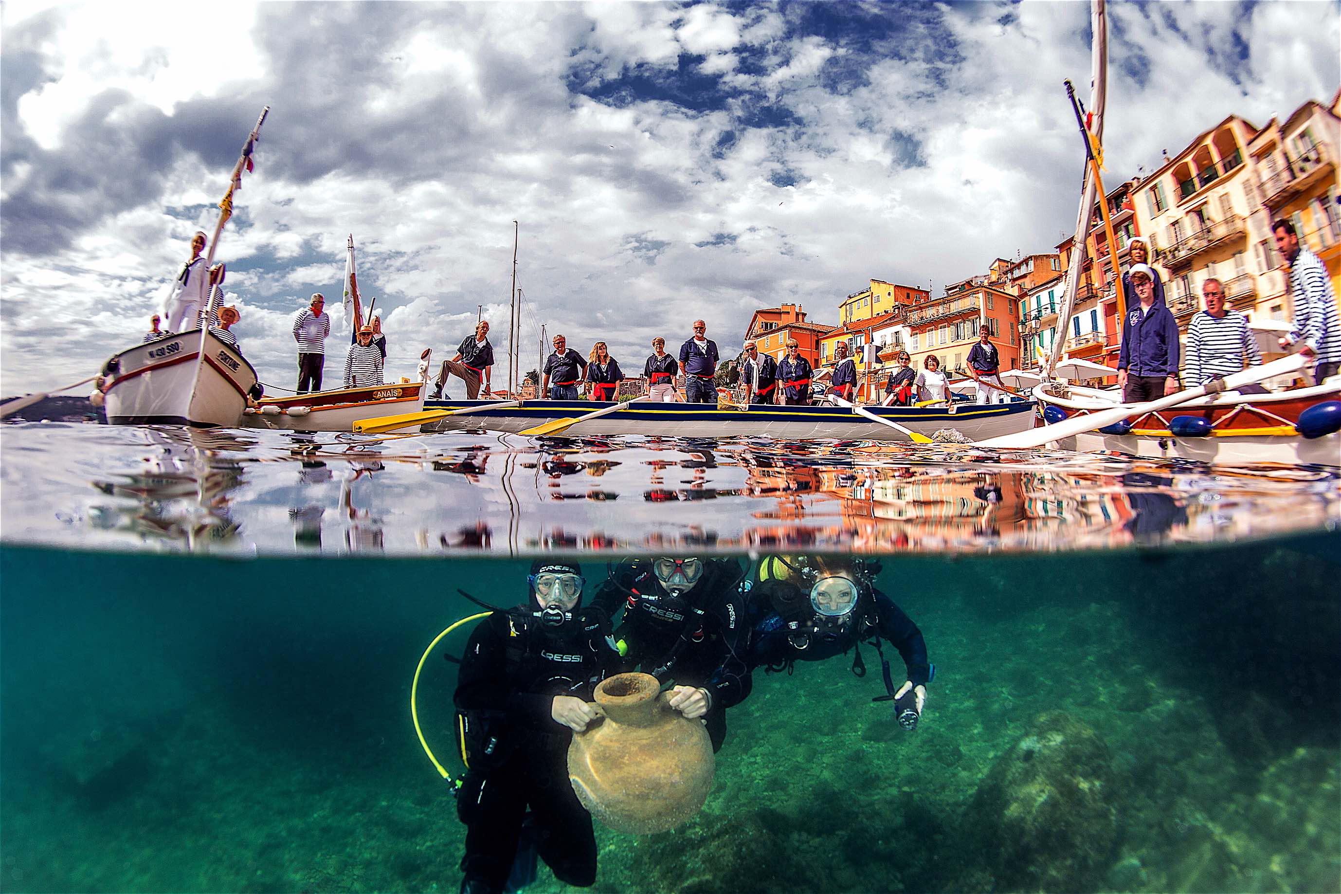 À la découverte des trésors engloutis de Villefranche-sur-Mer
