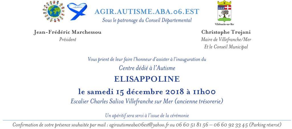 Inauguration du Centre dédié à l'Autisme - ELISAPPOLINE @ Escalier Charles Saliva   Villefranche-sur-Mer   Provence-Alpes-Côte d'Azur   France